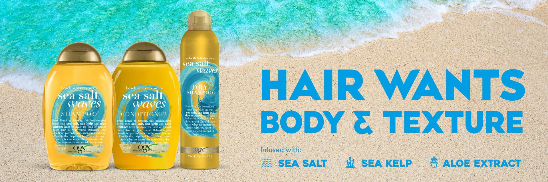 OGX Sea Salt Waves